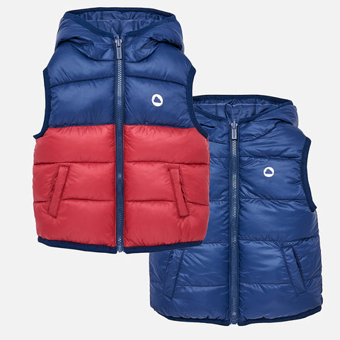 Gilet Reversibile Imbottito Ciliegia | MAYORAL | RocketBaby.it