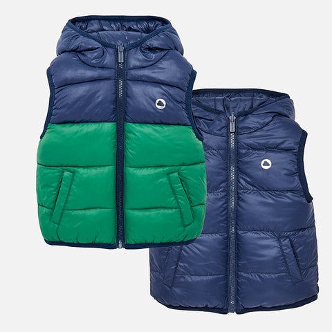 Gilet Reversibile Imbottito Ecogreen | MAYORAL | RocketBaby.it