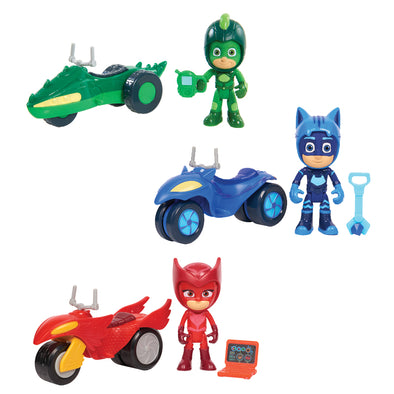 1 Personaggio con Moto Space Rover PJ Masks | FLAIR | RocketBaby.it