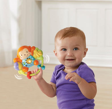 Sonaglio Scimmietta Swing and Shake | VTECH | RocketBaby.it