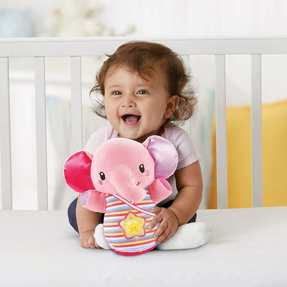 Peluche Musicale Snooze and Soothe Elephant Pink | VTECH | RocketBaby.it