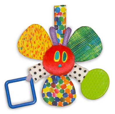 Sonaglio da Mordere con Specchio The Very Hungry Caterpillar | RAINBOW DESIGNS | RocketBaby.it