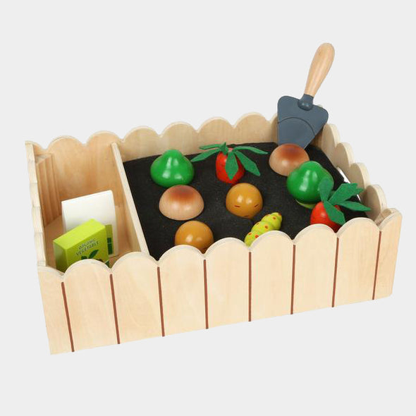 Orto in Legno con Verdure e Accessori | LEGLER | RocketBaby.it