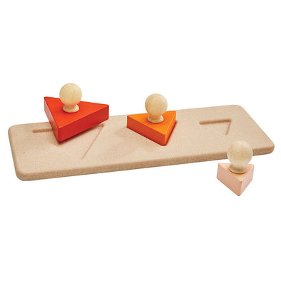 Puzzle in Legno Triangle | PLAN TOYS | RocketBaby.it