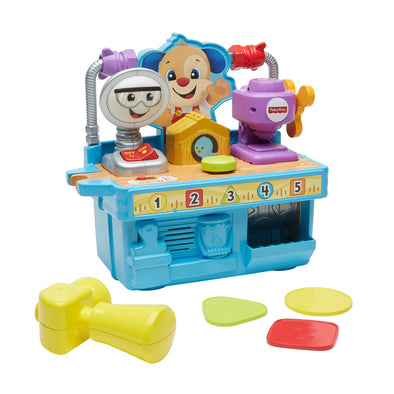 Banco di Lavoro Sonoro con Attrezzi | FISHER PRICE | RocketBaby.it