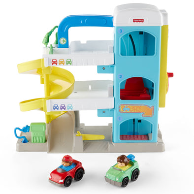 Playset Garage Little People | FISHER PRICE | RocketBaby.it
