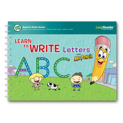 Set Interattivo Learn to Write Letters Mr Pencil | LEAP FROG | RocketBaby.it