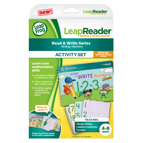 Set Interattivo Learn to Write Numbers with Mr Pencil | LEAP FROG | RocketBaby.it