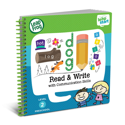 Libro Activity LeapStart Read and Write | LEAP FROG | RocketBaby.it