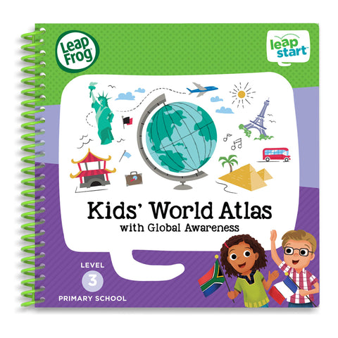 Libro Activity LeapStart Kids World Atlas | LEAP FROG | RocketBaby.it