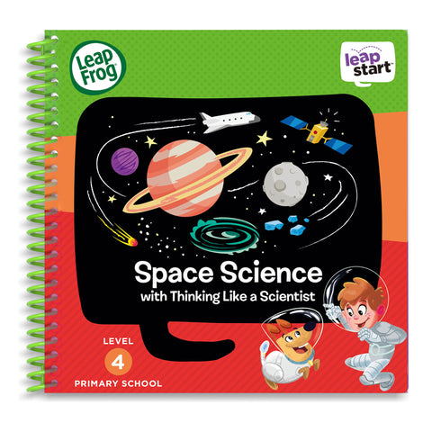 Libro Activity LeapStart Space Science | LEAP FROG | RocketBaby.it