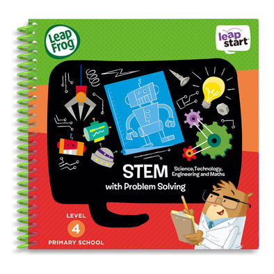 Libro Activity LeapStart STEM | LEAP FROG | RocketBaby.it