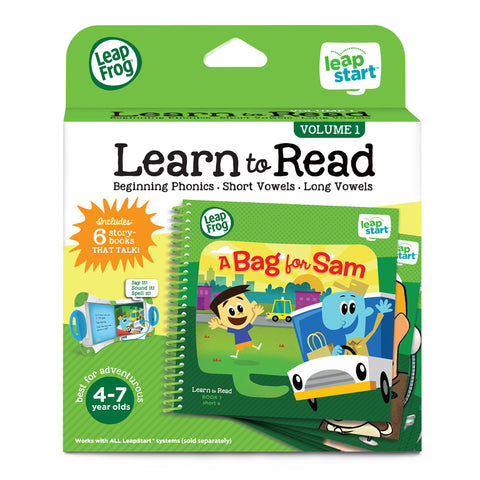 Set di 6 Libri Activity Learn to Read Volume 1 | LEAP FROG | RocketBaby.it