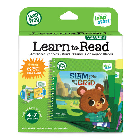 Set di 6 Libri Activity Learn to Read Volume 2 | LEAP FROG | RocketBaby.it