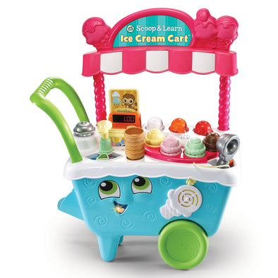 Gioco Activity Scoop and Learn Ice Cream Cart | LEAP FROG | RocketBaby.it