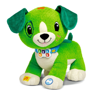 Peluche Interattivo Read With Me Scout | LEAP FROG | RocketBaby.it