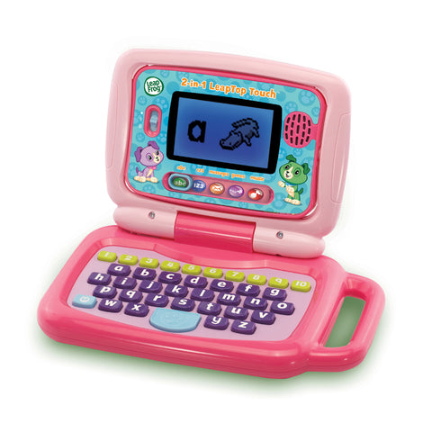 Laptop e Tablet Educativo 2 in 1 Pink | LEAP FROG | RocketBaby.it