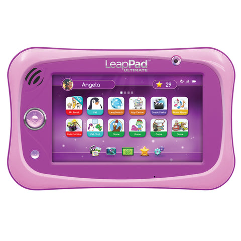 Tablet Musicale LeapPad Ultimate Pink | LEAP FROG | RocketBaby.it