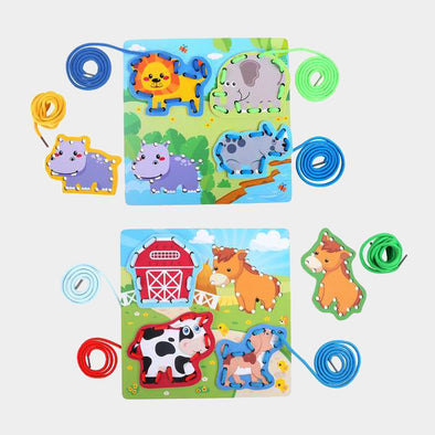 Set 2 Giochi Animali da Infilare | LEGLER | RocketBaby.it