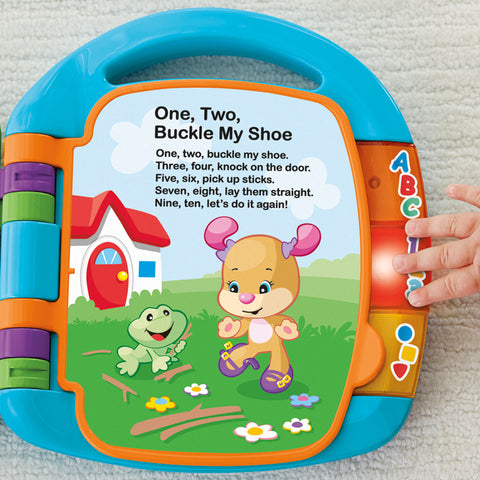 Libro Musicale in Inglese | FISHER PRICE | RocketBaby.it