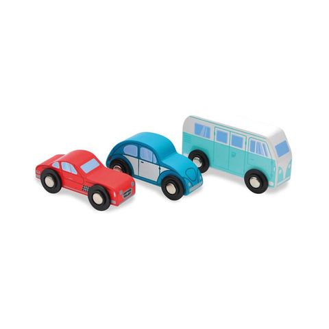 Set Automobiline e Camper Classic in Legno | INDIGO JAMM | RocketBaby.it