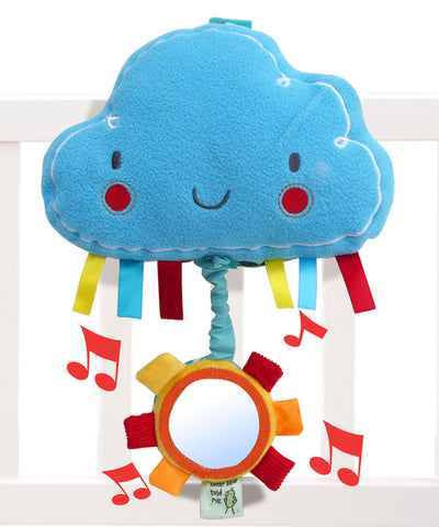 Gioco Musicale Nuvoletta Fluffy Cloud | LITTLE BIRD TOLD ME | RocketBaby.it