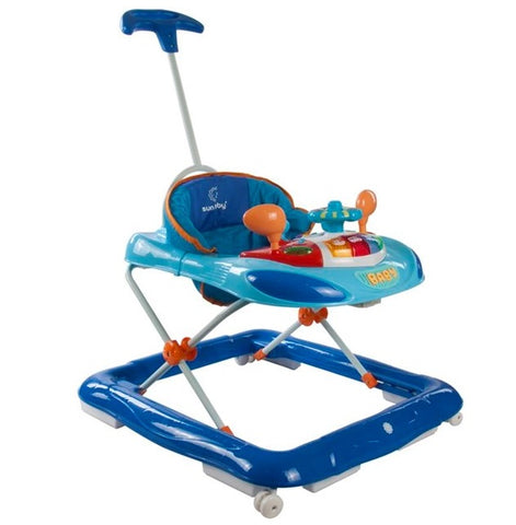 Girello Con Volante Blue | MIKY | RocketBaby.it
