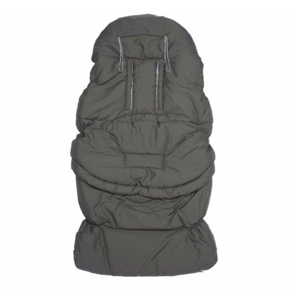 Sacco Passeggino Regolabile in Bamboo Igloo Baby Middle Grey | BAMBOOM | RocketBaby.it