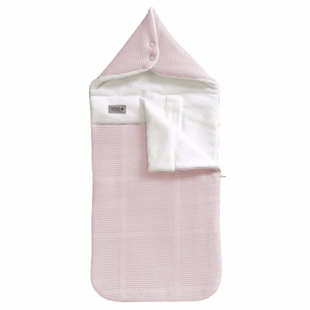 Sacco Nanna da Viaggio Igloo Mini New Vintage Pink White | BAMBOOM | RocketBaby.it