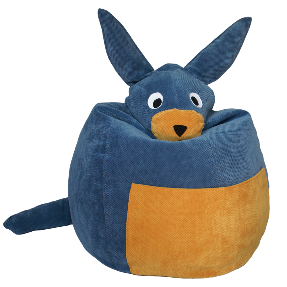 Dolby il canguro blu Pouf | IL SACCOTTO MADE IN ITALY | RocketBaby.it