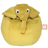 Annibale l'elefante giallo Pouf | IL SACCOTTO MADE IN ITALY | RocketBaby.it