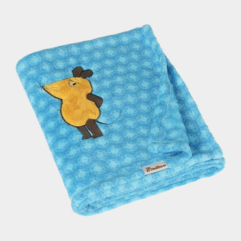 Coperta in Pile die Maus Blue | PLAYSHOES | RocketBaby.it