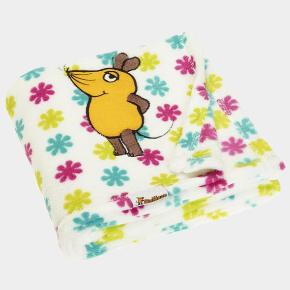 Coperta in Pile die Maus Flowers | PLAYSHOES | RocketBaby.it