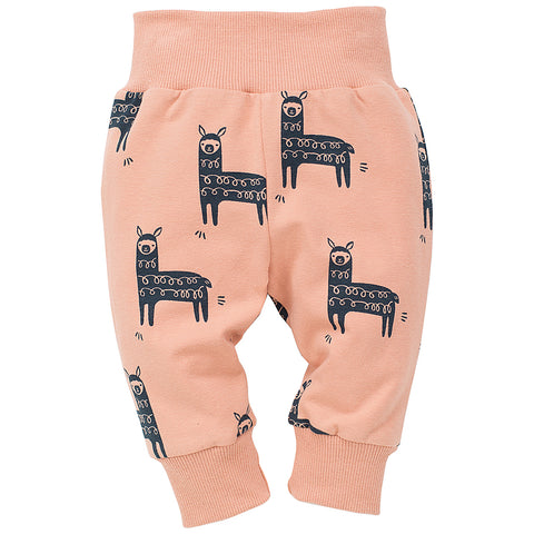 Pantaloni Happy Llama Orange | PINOKIO | RocketBaby.it