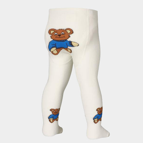 Leggings con Piedino Bear Natur | PLAYSHOES | RocketBaby.it