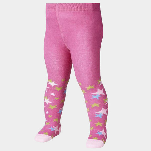 Leggings con Piedino Stars Pink | PLAYSHOES | RocketBaby.it