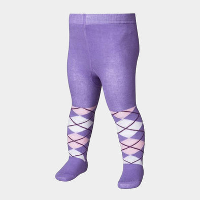 Leggings con Piedino Checkered Lilac | PLAYSHOES | RocketBaby.it