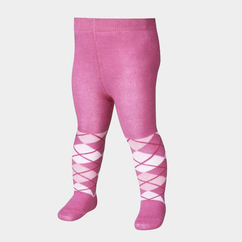 Leggings con Piedino Checkered Pink | PLAYSHOES | RocketBaby.it