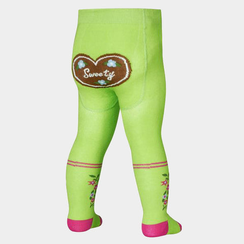 Leggings con Piedino Country House Green | PLAYSHOES | RocketBaby.it