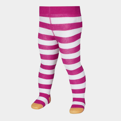 Leggings con Piedino Striped Pink White | PLAYSHOES | RocketBaby.it