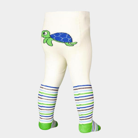 Leggings con Piedino Turtle Green | PLAYSHOES | RocketBaby.it