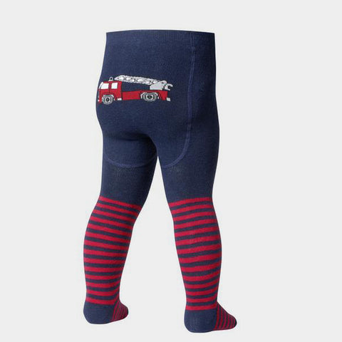 Leggings con Piedino Fire Brigade Navy | PLAYSHOES | RocketBaby.it