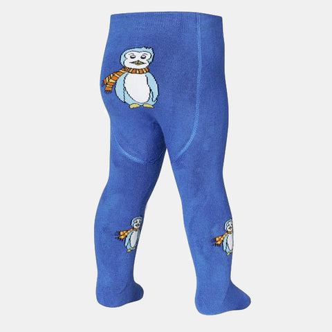 Leggings Termici con Piedino Penguin Blue | PLAYSHOES | RocketBaby.it