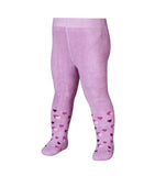 Leggings Termici con Piedino Hearts Lilac | PLAYSHOES | RocketBaby.it