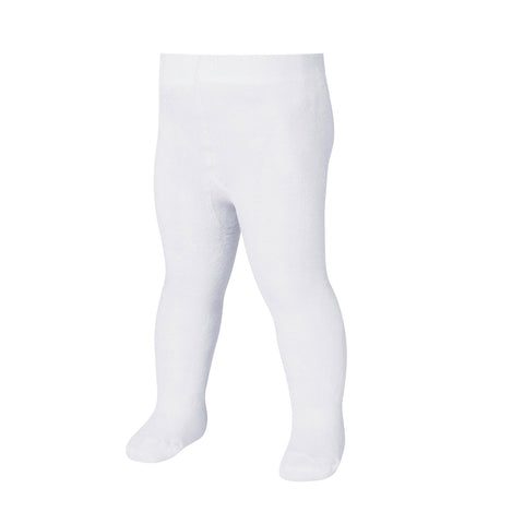 Leggings Termici con Piedino Uni White | PLAYSHOES | RocketBaby.it