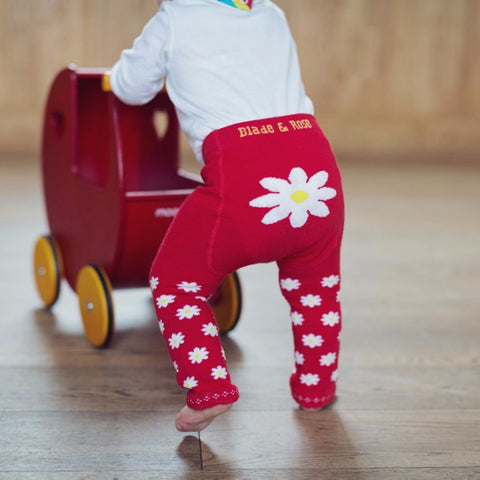 Leggings Margherita Rossa - RocketBaby - 1