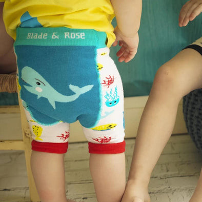 Leggings Corti Sealife | BLADE&ROSE | RocketBaby.it