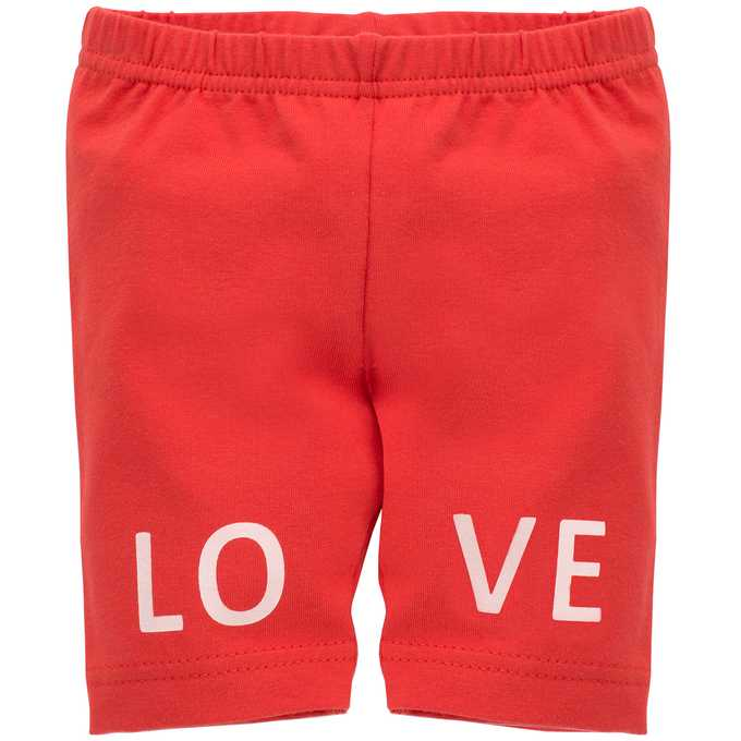 Leggings Corti Love e Love Red | PINOKIO | RocketBaby.it