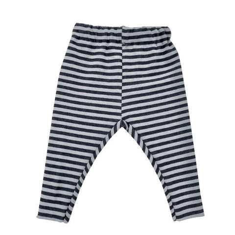 Leggings Striped Antracite Fango | BAMBOOM | RocketBaby.it