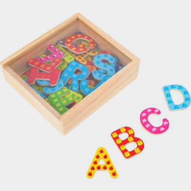 Set di Calamite Lettere | LEGLER | RocketBaby.it
